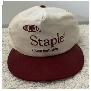 Vintage Dupont Cotton Herbicide Snapback USA Cap